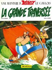 Astérix -22c- La grande traversée