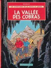 Jo, Zette et Jocko (Les Aventures de) -5B43- La vallée des cobras