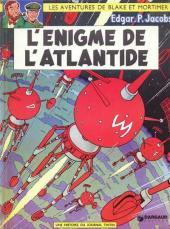 Blake et Mortimer (Les aventures de) (Historique) -6e1974'- L'Énigme de l'Atlantide