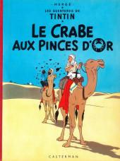 Tintin (Historique) -9B35- Le crabe aux pinces d'or