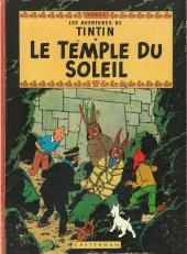 Tintin (Historique) -14B35- Le temple du soleil