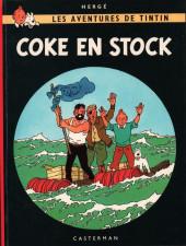 Tintin (Historique) -19B39- Coke en stock