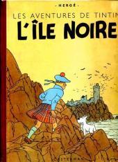 Tintin (Historique) -7B04- L'île noire