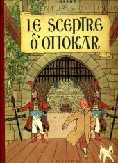 Tintin (Historique) -8B03- Le sceptre d'Ottokar