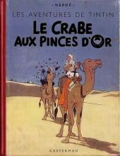 Tintin (Historique) -9B04- Le crabe aux pinces d'or