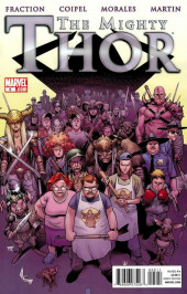 Mighty Thor (The) (2011) -5- The Galactus seed 5 : God of carnage