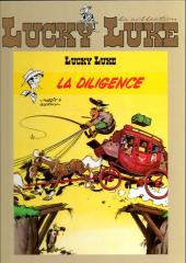 Lucky Luke - La collection (Hachette) -3- La diligence