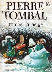 Pierre Tombal -16a2003- Tombe, la neige