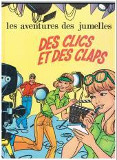 Jumelles (Les aventures des) -3- Des clics et des claps