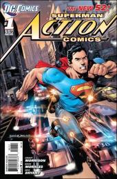 Action Comics (2011) -1- Superman versus the City of Tomorrow