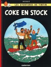 Tintin (Historique) -19C8- Coke en stock