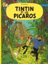 Tintin (Historique) -23C6bis- Tintin et les Picaros