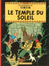 Tintin (Historique) -14B42- Le temple du soleil