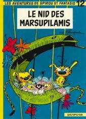 Spirou et Fantasio -12e86- Le nid des Marsupilamis