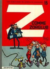 Spirou et Fantasio -15e86- Z comme Zorglub