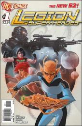 Legion of Super-Heroes (2011) -1- Renegade world