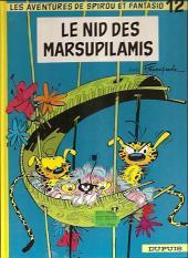 Spirou et Fantasio -12e87- Le nid des Marsupilamis
