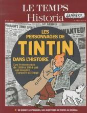Tintin - Divers -60'''- Les Personnages de Tintin dans l'Histoire