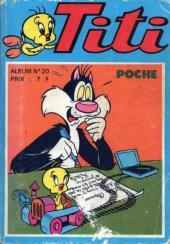 Titi (Poche) -Rec20- Album N°20 (du n°59 au n°61)