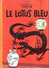 Tintin (Historique) -5B10- Le lotus bleu