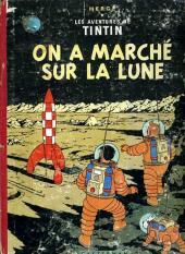 Tintin (Historique) -17B16- On a marché sur la lune