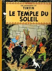 Tintin (Historique) -14B22bis- Le temple du soleil