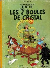 Tintin (Historique) -13B22- Les 7 boules de cristal