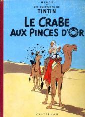 Tintin (Historique) -9B31- Le crabe aux pinces d'or