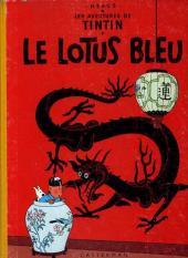Tintin (Historique) -5B30- Le lotus bleu