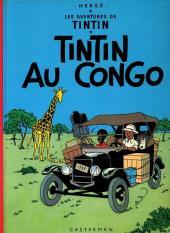 Tintin (Historique) -2C3bis- Tintin au Congo