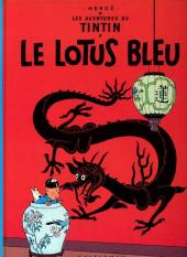 Tintin (Historique) -5C3- Le lotus bleu