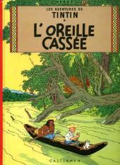 Tintin (Historique) -6C2- L'oreille cassée