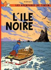 Tintin (Historique) -7C2- L'île noire