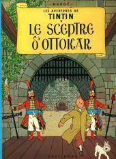 Tintin (Historique) -8C2- Le sceptre d'Ottokar