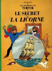 Tintin (Historique) -11C2- Le Secret de la Licorne