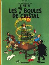 Tintin (Historique) -13C8- Les 7 boules de cristal
