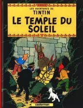 Tintin (Historique) -14C8- Le temple du soleil