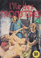 Série Jaune (Elvifrance) -46- L'île des monstres