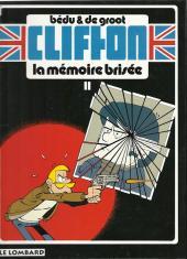 Clifton -11a- La mémoire brisée