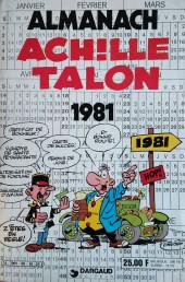 Achille Talon -HS1- Almanach 1981