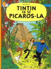 Tintin (en langues régionales) -23Antillais- Tintin ek sé Picaros-la