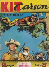 Kit Carson -40- Les armes de contrebande