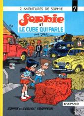 Sophie (Jidéhem) -7a1982- Sophie et le cube qui parle