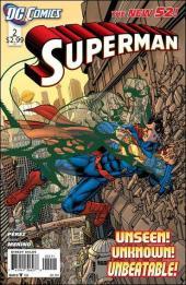Superman (2011) -2- Flying blind