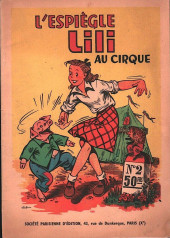 Lili (L'espiègle Lili puis Lili - S.P.E) -2- L'espiègle Lili au cirque