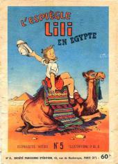 Lili (L'espiègle Lili puis Lili - S.P.E) -5- L'espiègle Lili en Égypte