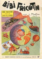 Bibi Fricotin (2e Série - SPE) (Après-Guerre) -3- Bibi Fricotin fait le tour du monde