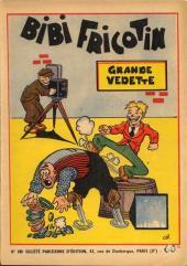 Bibi Fricotin (2e Série - SPE) (Après-Guerre) -10- Grande vedette