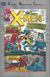 Uncanny X-Men (The) (Marvel comics - 1963) -9MIL- Enter the avengers