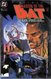 Batman: Shadow of the Bat (1992) -5- The black spider